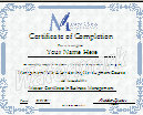 Management Certificate