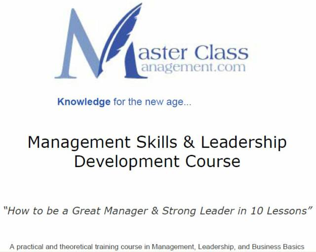 Free Online Business Management Training Course ...